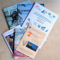 Advertising leaflets and booklets