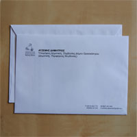 Envelopes and notepapers